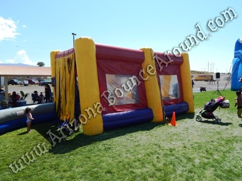 Inflatable car wash rental