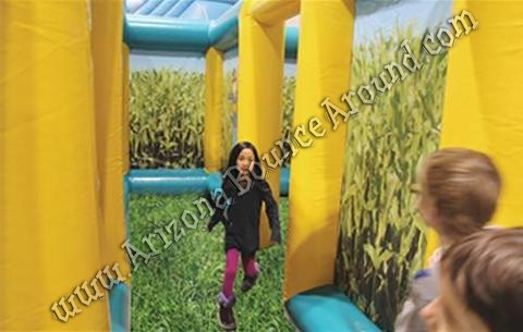Inflatable corn maze rentals in Denver Colorado