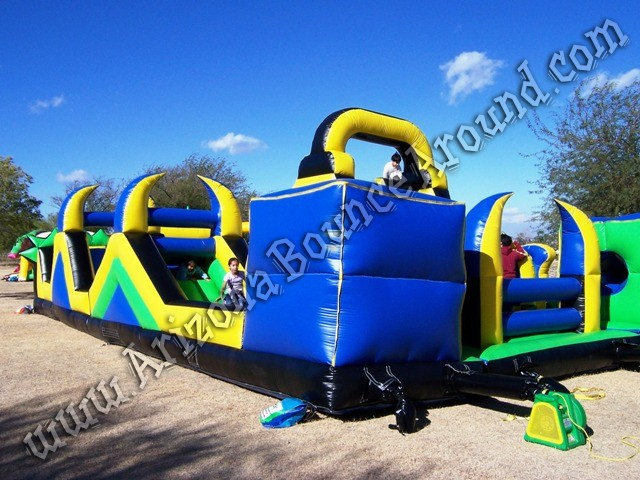 Inflatable obstacle course rental Denver Colorado