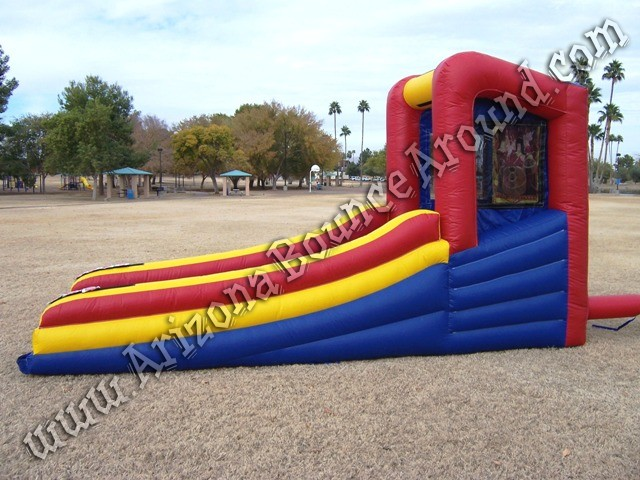 Inflatable skee ball game rental Denver Colorado Springs Aurora Fort Collins Colorado
