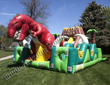 Jurassic Obstacle Course for rent in Denver CO