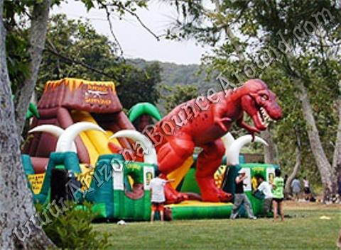 Jurassic Themed Inflatables for rent in Colorado