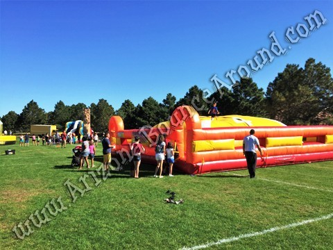 King of the mountain Inflatable rental Denver Colorado