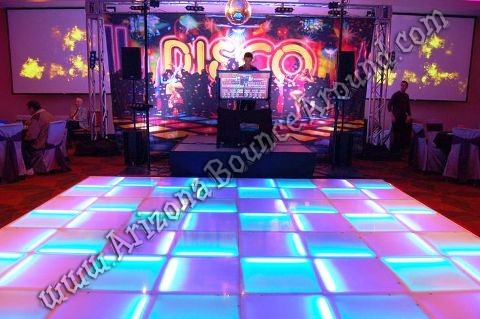 LED Dance floors for rent in Denver Colorado for special events