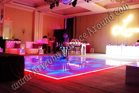 LED dance floor rentals for weddings in Denver Colorado Springs Colorado