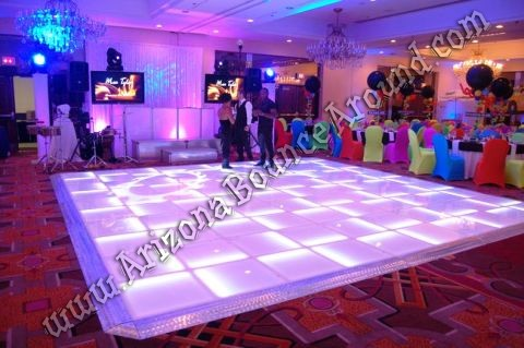LED dance floors for special events in Denver Colorado