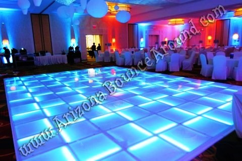 Light up dance floor rental Denver CO