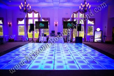 Light up dance floors for rent in CO