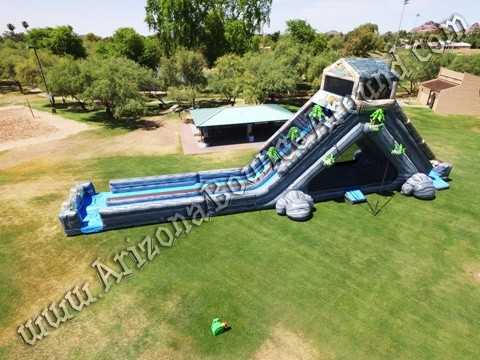 Log Flume winter snow slide rentals in Denver Colorado