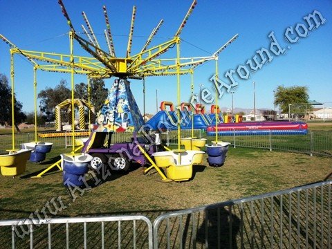 Mindwinder Carnival Ride Colorado Springs Colorado