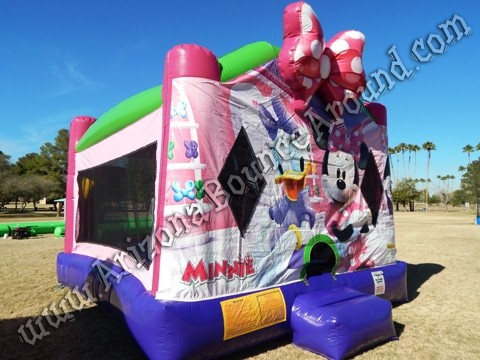 Minnie Mouse Bounce House Rentals in Denver