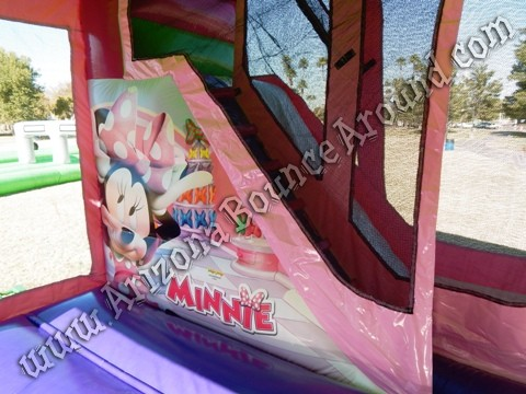Minnie Mouse Bounce House Rentals with slide Fort Collins