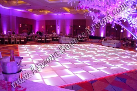 Denver LED dance floor rentals