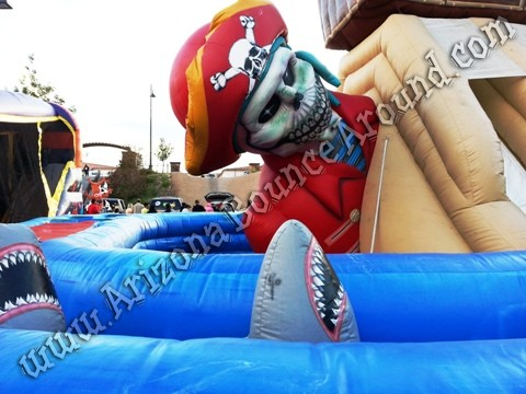 Pirate themed inflatable rentals Colorado Springs