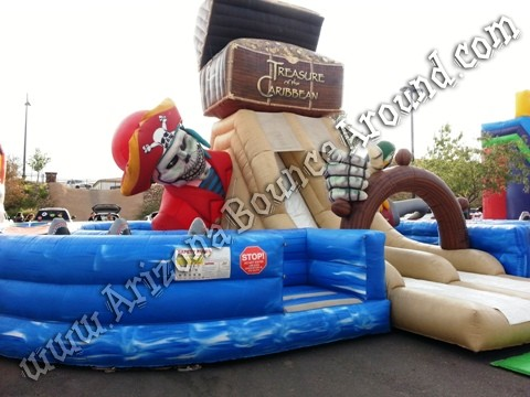 Pirate themed obstacle course rental CO
