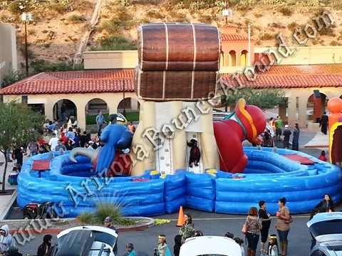 Pirate themed obstacle course rental Colorado
