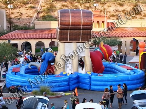 Pirate themed obstacle course rental Denver