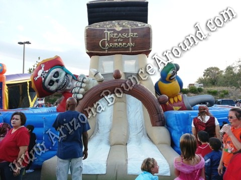 Pirate themed obstacle course rentals in Colorado