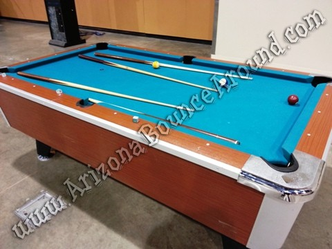 Pool table rental Colorado Springs
