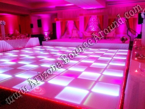 Rent LED dance floors in Lakewood Colorado