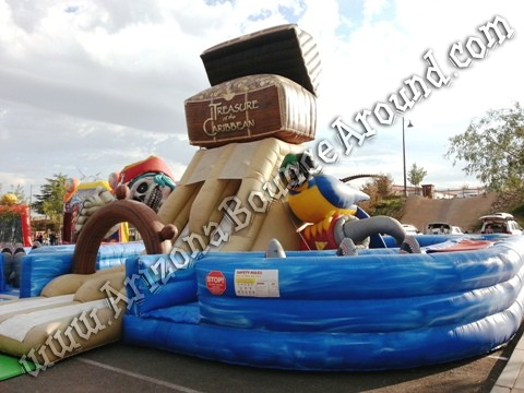 Rent Pirate themed inflatables in Denver