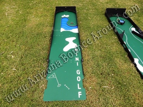Rent mini golf games for parties