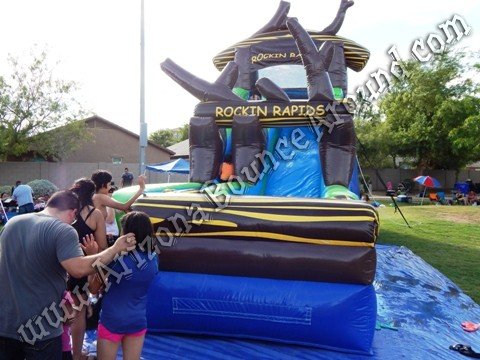 Rockin Rapids Water Slide Rentals