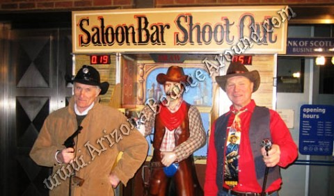 Saloon Bar Shootout Game Rentals in Fort Collins