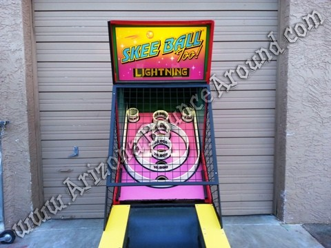 Skee Ball Arcade Games for rent in Colorado