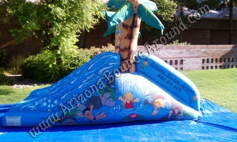 Small Water Slide Rentals for Childrens Birthday Parties Denver