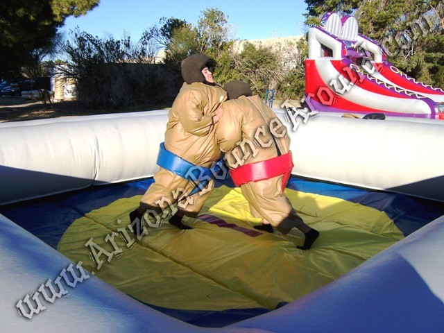 Sumo wrestling game rentals Denver Colorado