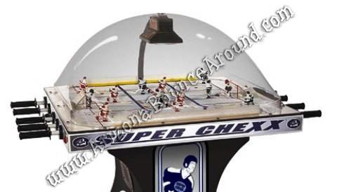 Super Chexx Bubble Ice Hockey Game Rental Denver Colorado