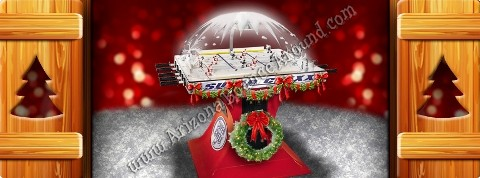 Super-Chexx Holiday Hockey Game Rental Denver Colorado