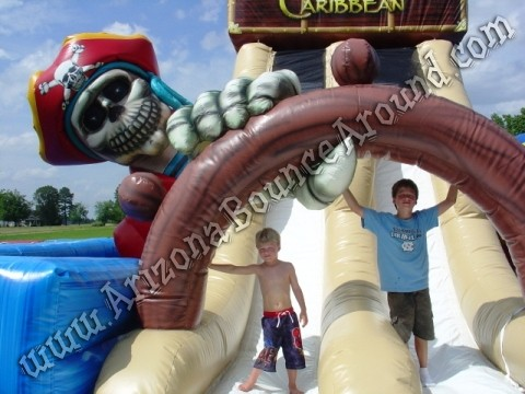 Treasure of the Caribbean Obstacle Course Rental Colorado