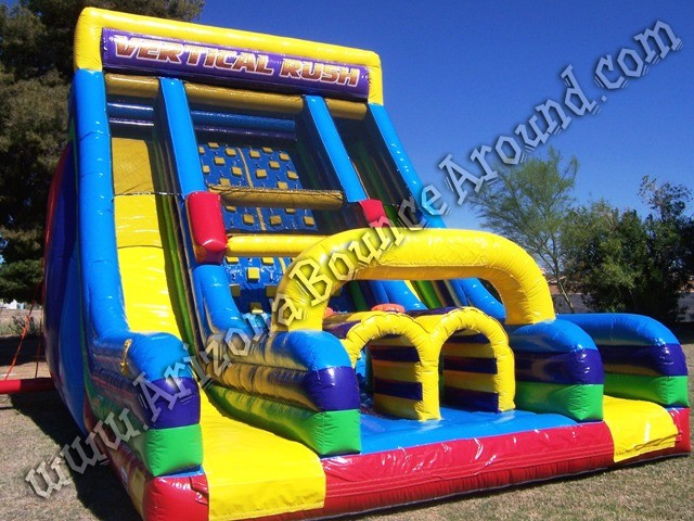 Vertical rush inflatable obstacle course rental Denver CO