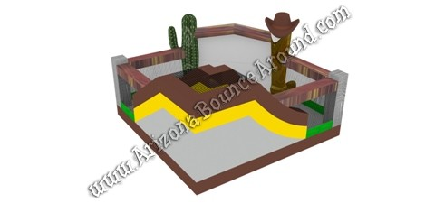 Western Themed Bounce Houses for rent in Denver Colorado