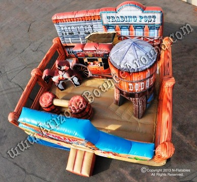 Western themed bounce house rentals CO