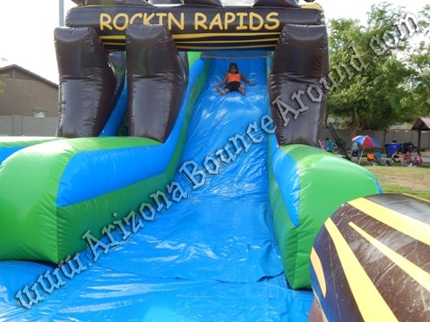 Where can i rent a big inflatable water slide in Denver Colorado