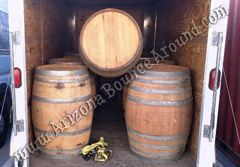 Wine barrel prop rental Denver CO