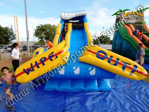 Wipe Out Water Slide rental Fort Collins CO