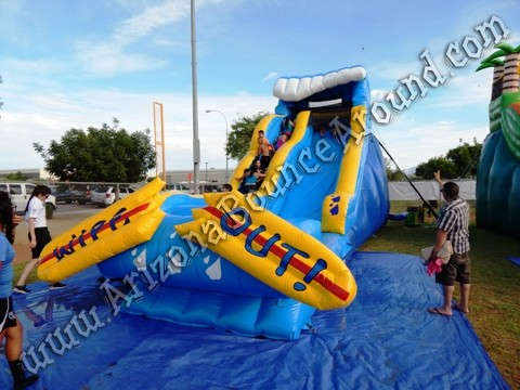 Wipe Out Water Slide rental Colorado Springs