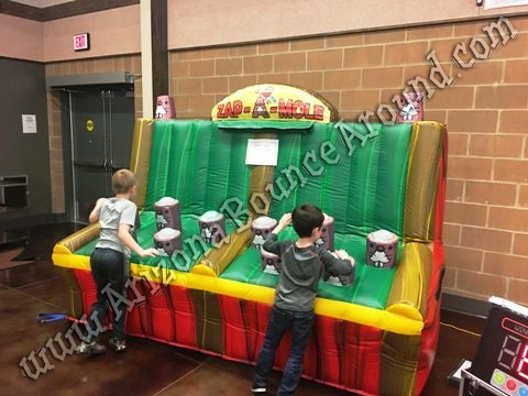 Zap a mole inflatable game rental Denver Colorado