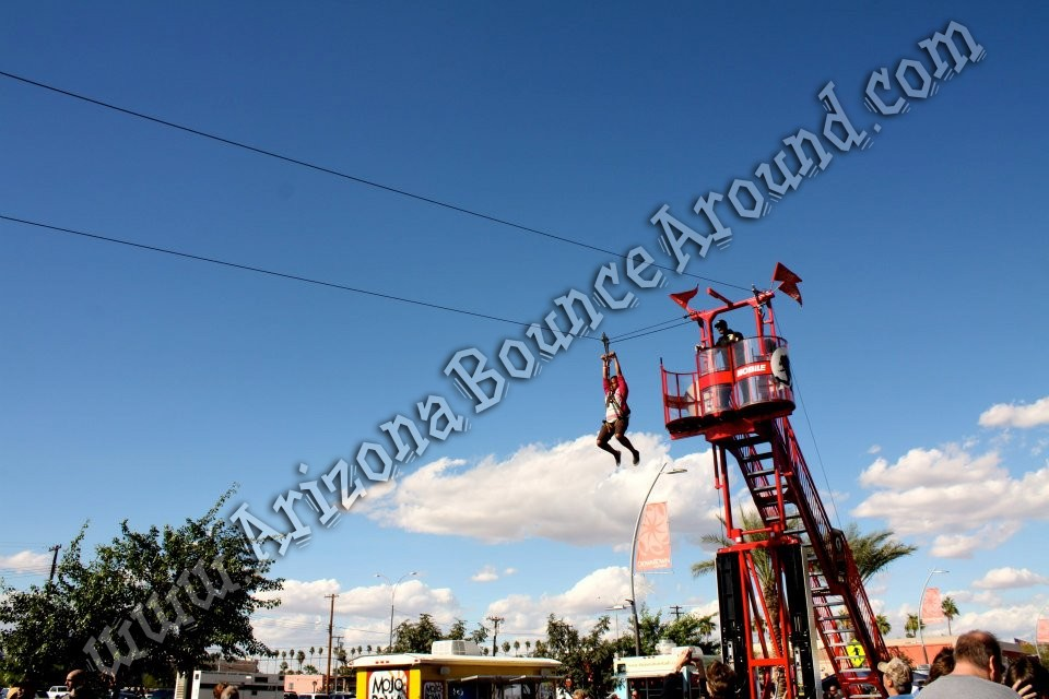 Zip line rentals Denver Colorado