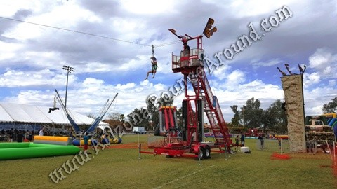 Zip line rentals for parties and events in Colorado