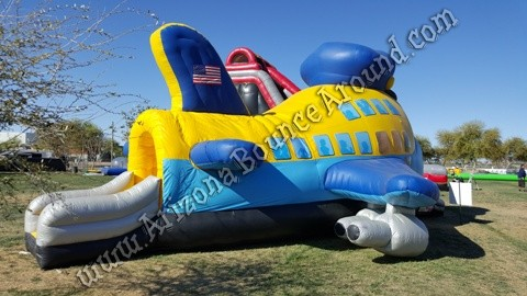 airplane bounce house rental Colorado Springs
