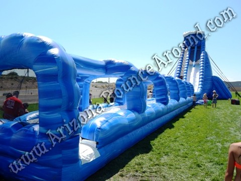 big dual lane water slide rentals for events