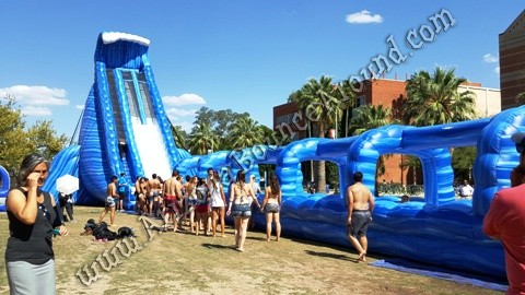 giant water slides for parties in Colorado