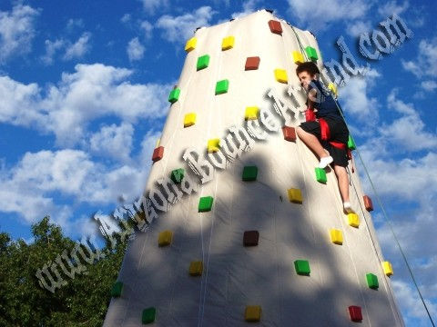 26' Tall Inflatable Climbing Rockwall Rental Denver