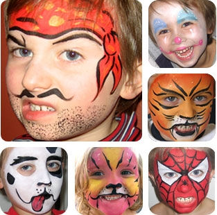 hire face painters in Denver, Colorado Springs, Aurora, Fort Collins, Lakewood, Thornton, Arvada, Centennial, Colorado, CO