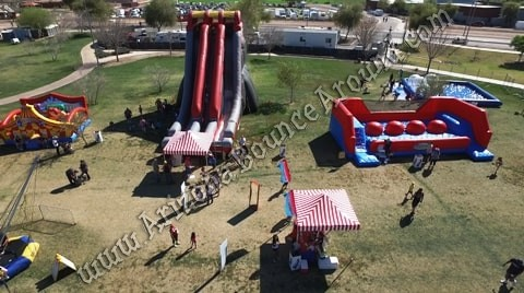 inflatable companies that rent tall slides in Phoenix